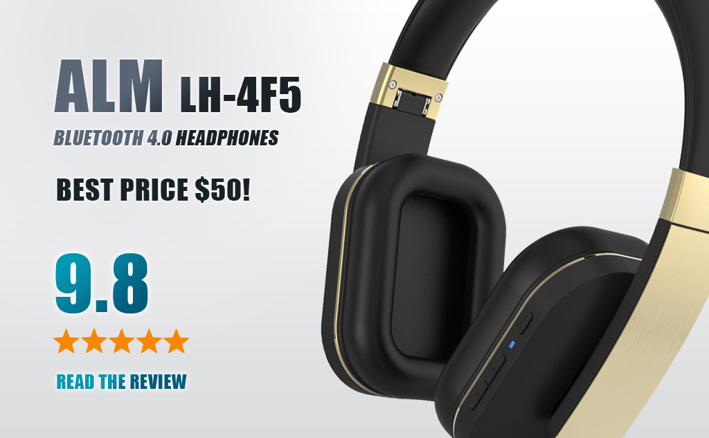 ALM Bluetooth Headphones LH-4F5 Review